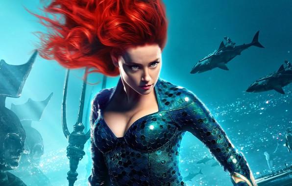 Picture look, girl, the ocean, Aquaman, fantasy