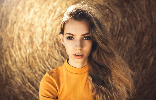 Picture Girl, long hair, photo, blue eyes, model, lips, face, blonde, Roxi, portrait, mouth, close up, …