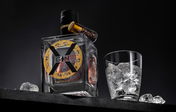 Picture alcohol, drink, X Gin Aphrodisiac