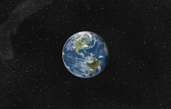 Picture space, the world, planet, Earth