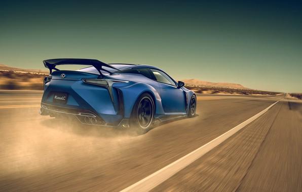 Picture Lexus, Car, Blue, Sport, LC