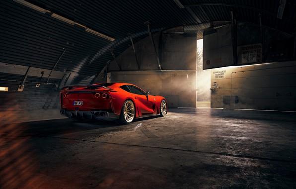 Picture lights, Ferrari, sports car, Superfast, 812, Novitec N-Largo
