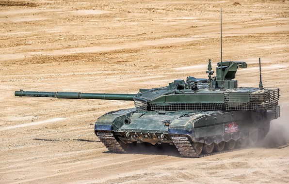 Picture tank, polygon, upgraded, Forum «ARMY 2018», T-90M