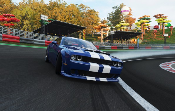 Picture Dodge, Drift, Demon, Forza Horizon 4