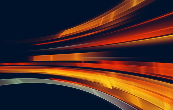 Picture light, movement, light, orange, motion