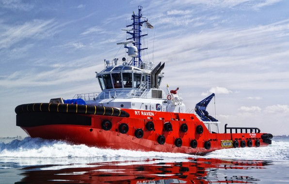 Picture Sea, The ship, Tank, Tug, Pusher, Tug, Pusher-Tug, RT Raven