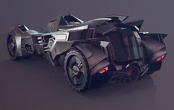 Picture The game, Machine, Car, Batmobile, Game, DC Comics, The Batmobile, Comics, Rocksteady Studios, Batman: Arkham …