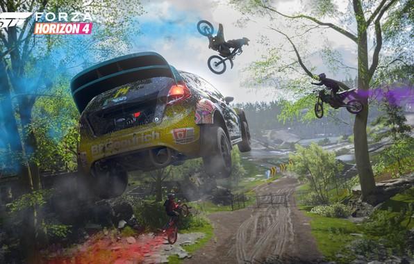 Picture Ford, Microsoft, game, 2018, Rally, Fiesta, E3 2018, Forza Horizon 4