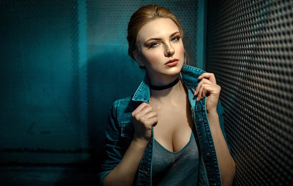 Picture look, pose, model, portrait, makeup, Mike, lift, hairstyle, brown hair, beauty, dzhinsovka, Carla Sonre, Damian …