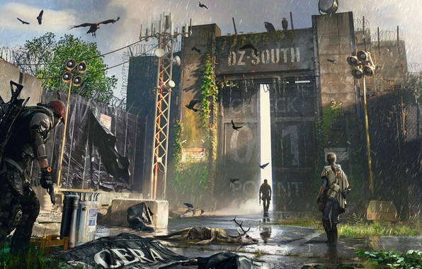 Picture Heath, agents, Tom Clancy's The Division 2, The Division 2, Woreda, Dark Zone, DZ