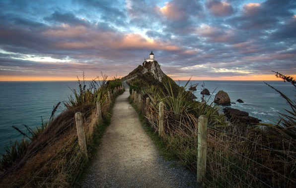 Picture New Zealand, South Island, East Coast, Nugget Point Lighthouse