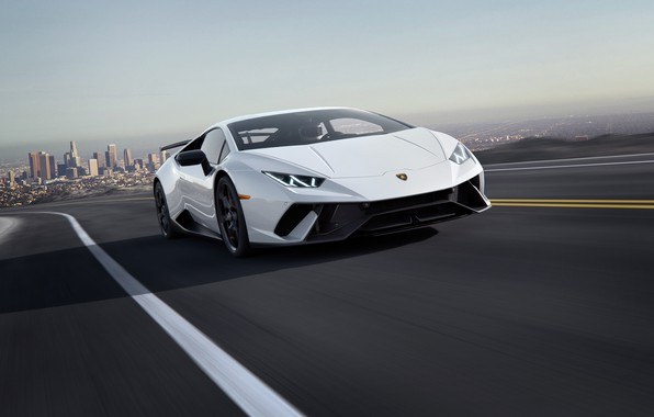 Picture speed, Lamborghini, supercar, 2018, CGI, Performante, Huracan