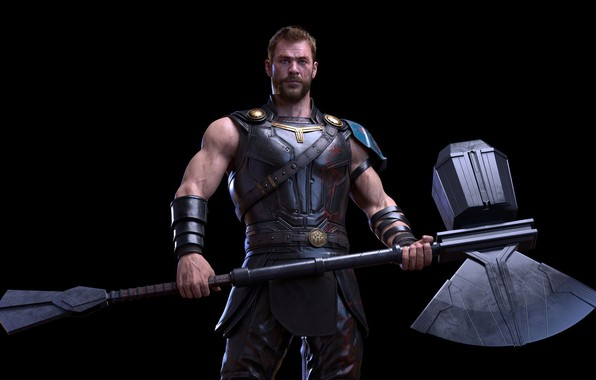 Picture weapons, axe, Thor, Thor, stormbreaker, Thor Odinson