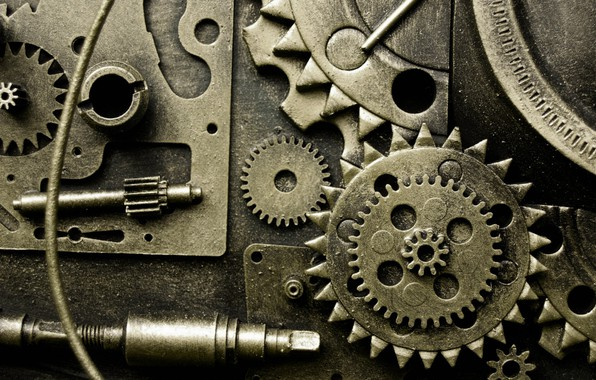 Picture photo, mechanism, gear