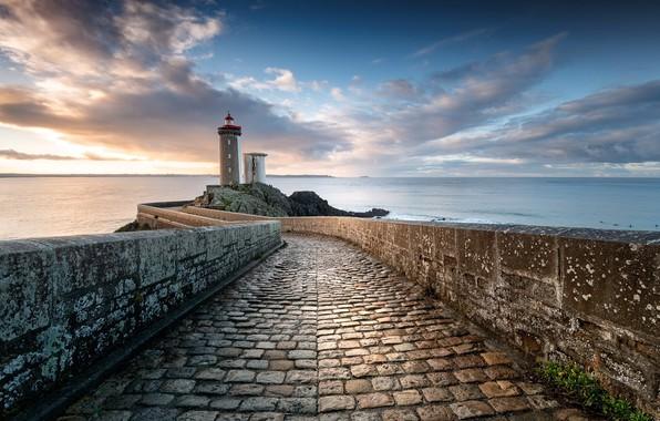 Picture lighthouse, Bretagne, Jerez de Los Caballeros