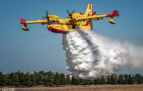 Picture Water, Bombardier 415, Greek air force, Hellenic Air Force, HESJA Air-Art Photography, Fire plane, The …