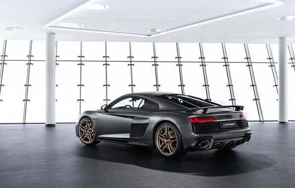 Picture machine, Audi, coupe, lights, sports car, Audi R8, V10, A decade