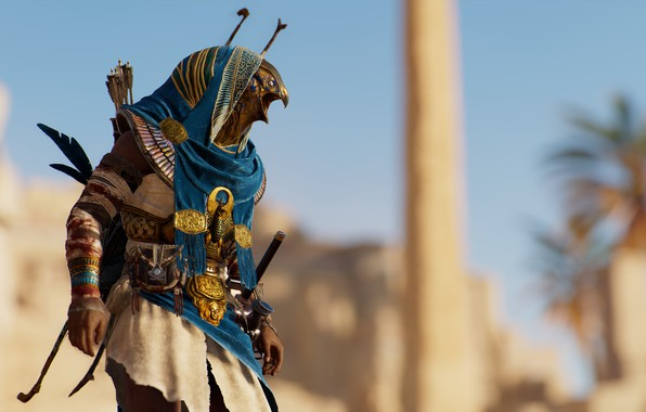 Picture background, the game, Assassin's Creed Origins