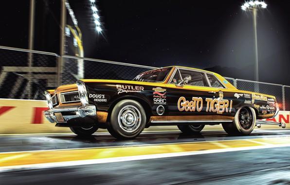 Picture Machine, Race, Car, Render, Pontiac, Rendering, Race Car, Transport & Vehicles, Racing car, by Aurélien …