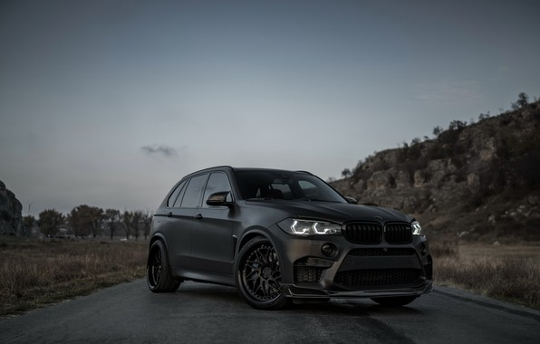 Picture front view, 2018, BMW X5, crossover, X5M, Z Performance