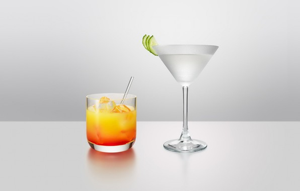 Picture glass, glass, cocktail, drink