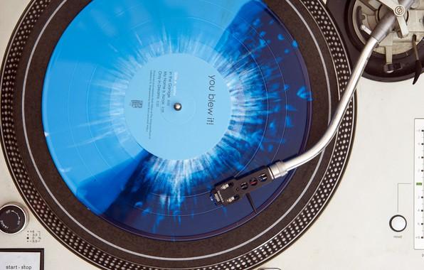 Picture blue, splatter, vinyl, record player, Technics, You Blew It!