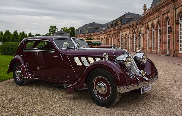 Picture auto, retro, 1932, Röhr, Olympier