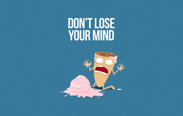 Picture Minimalism, Humor, Ice cream, Art, Scream, Illustration, Characters, Humor, Ice cream, The sweetness, Comic Art, …