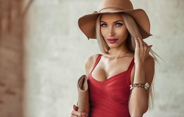Picture pretty, blonde, Galaev Eugene