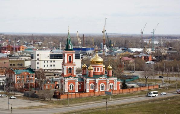 Picture Church, temple, Barnaul, photographer Alexander butchers
