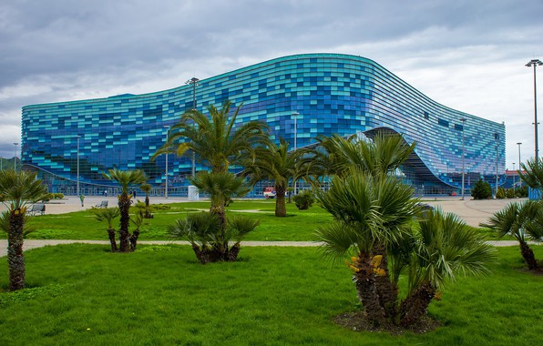 "Picture Russia, Sochi, ice Palace, The Poliakova, ""Iceberg"""