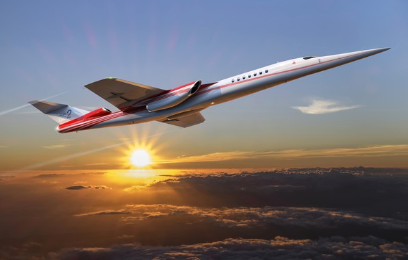 Picture the concept, Boeing, Boeing, Aerion AS2, supersonic business jet, supersonic business jet