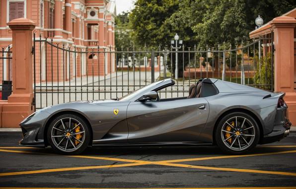 Picture Ferrari, Roadster, GTS, Superfast, 812, 2019, Ferrari 812 GTS