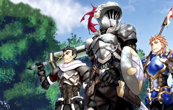 Picture Armor, Anime, Warriors, Art, Characters, Adventurers, The killer of goblins, Goblin slayer