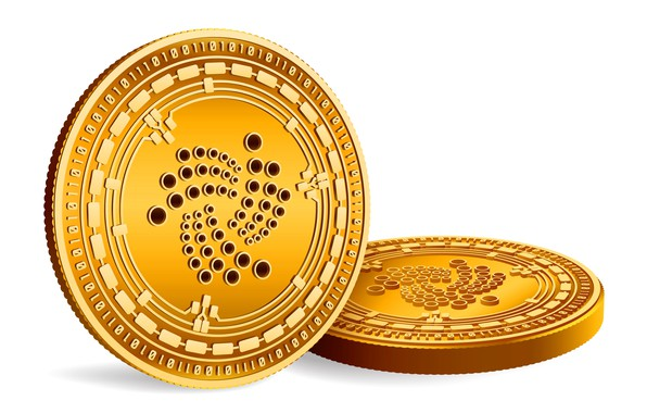 Picture coins, white, gold, fon, coins, cryptocurrency, iota, iota