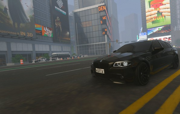 Picture the game, bmw, drift, bmw m5 2011, the crew 2