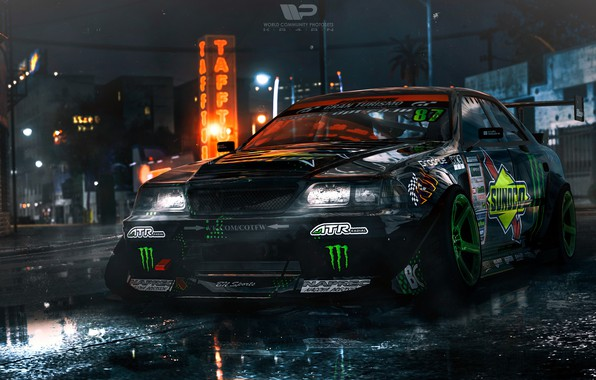Picture Auto, Machine, Toyota, NFS, Rendering, Need For Speed, Mark II, Need For Speed 2015, Toyota …