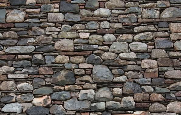 Picture wall, stone, texture, masonry