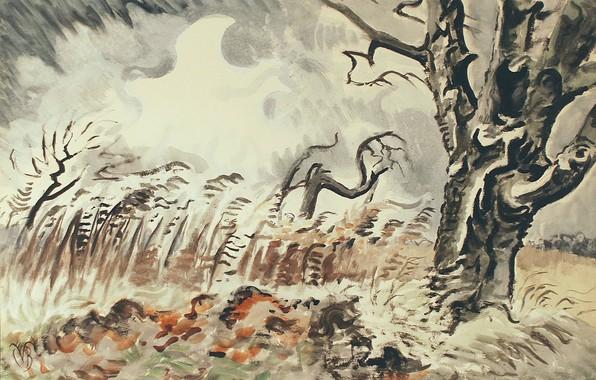 Picture 1950, Charles Ephraim Burchfield, November Storm