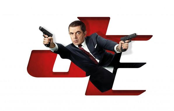Picture look, pose, weapons, Rowan Atkinson, Rowan Atkinson, Johnny English Strikes Again, Agent Johnny English 3.0, …