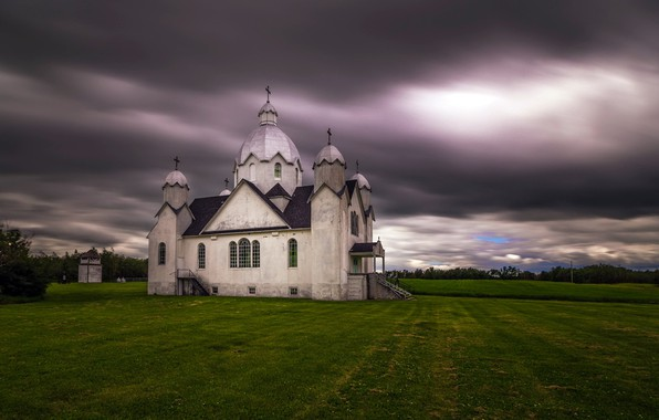 Picture Canada, Summer, Religious Facility, Ukrainian Catholic Church