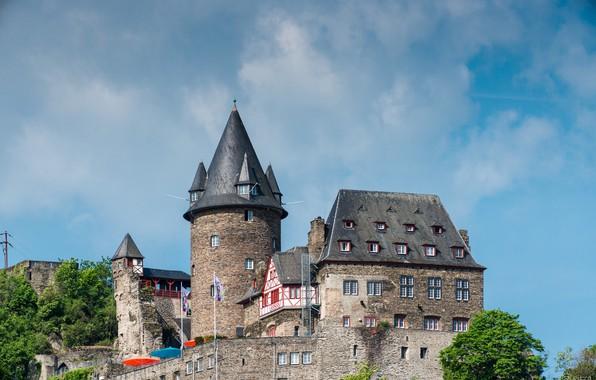 Picture The city, Castle, Castle, Town