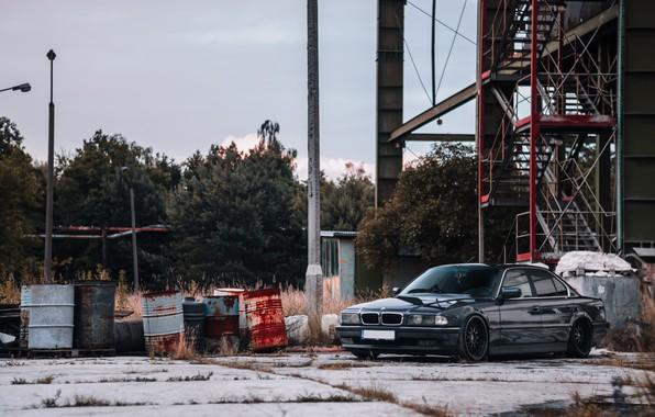 Picture bmw, BMW, Boomer, e38, tuning auto