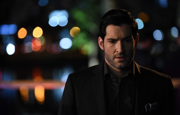 Picture the evening, the series, TV series, Lucifer, Tom Ellis, Lucifer, Tom Ellis, Lucifer Morningstar