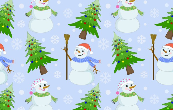 picture decoration background pattern new year christmas snowman christmas