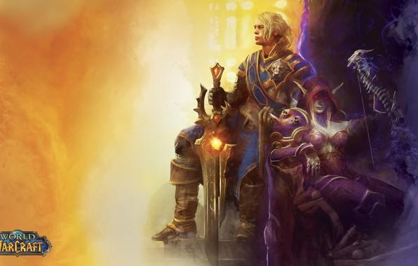 Picture people, dark, light, Alliance, undead, undead, king, World of WarCraft, human, king, Sylvanas Windrunner, the …