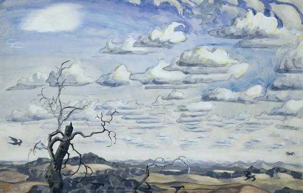 Picture Summer, 1926, Charles Ephraim Burchfield