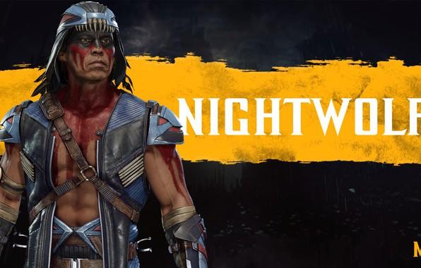 Picture fighter, Indian, MK11, Nightwolf, Night Wolf, Mortal Kombat 11, Mortal Kombat 11, Gray Cloud, Netwolf