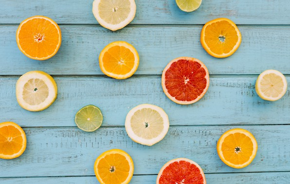Picture lemon, orange, lemon, fruit, wood, slices, grapefruit, fruit, orange, citrus, grapefruit, slice