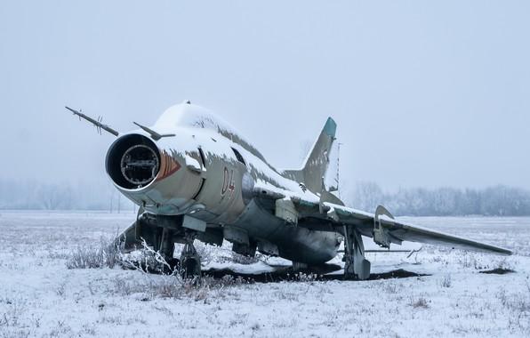 Picture the plane, scrap, Su-22